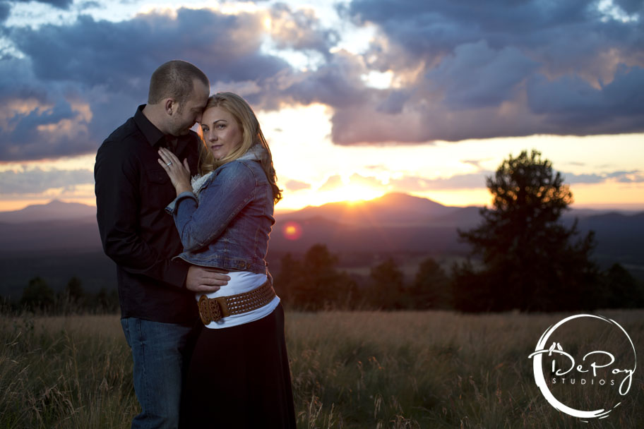 Flagstaff wedding photographer, Flagstaff wedding photography, Flagstaff, Snowbowl wedding image, Snowbowl, wedding, photographer, photography, DePoy Studios