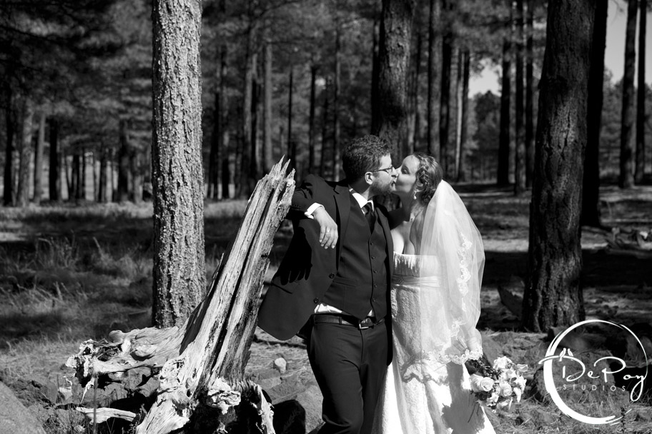 Flagstaff, Jewish, wedding, photographer, photography, DePoy Studios